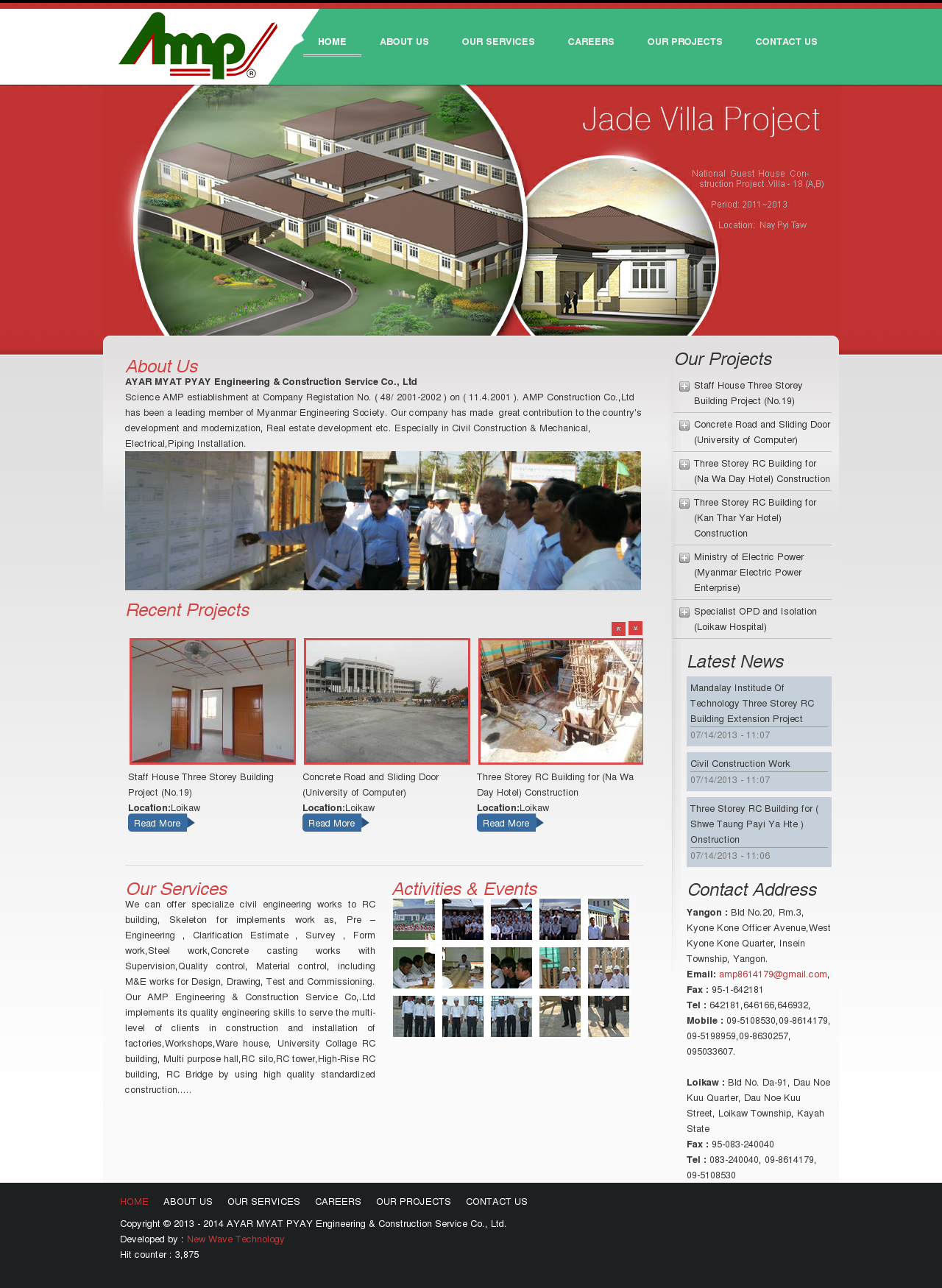 Myanmar Buildings sectional and portable, Property Web Directory